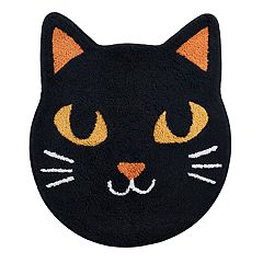 Celebrate Halloween Together  Cat Bath Rug