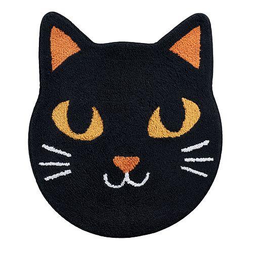 Celebrate Halloween Together  Cat Bath Rug