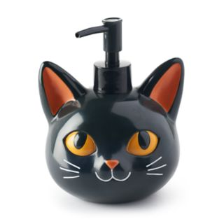 Celebrate Halloween Together  Black Cat Soap Pump