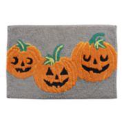 Celebrate Halloween Together  Pumpkins Bath Rug