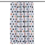 Celebrate Halloween Together  Catitude Shower Curtain