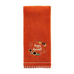 Celebrate Fall Together Happy Harvest Hand Towel