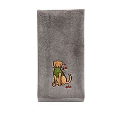 Celebrate Fall Together Sweater Dog Hand Towel