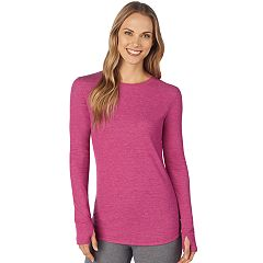 Women's Cuddl Duds Stretch Thermal Crewneck Top