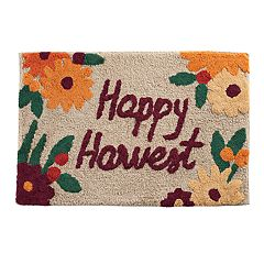 Celebrate Fall Together Happy Harvest Bath Rug
