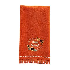 Celebrate Fall Together Happy Harvest Fingertip Towel