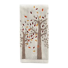 Celebrate Fall Together Tree Fingertip Towel