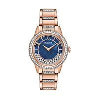 Bulova Women's TurnStyle Crystal Stainless Steel Watch - 98L247