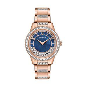 Bulova Women's TurnStyle Crystal Stainless Steel Watch - 98L247