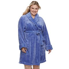 Plus Size SONOMA Goods for Life™ Short Plush Robe