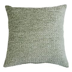 Fairfield Woven Chenille Solid Throw Pillow
