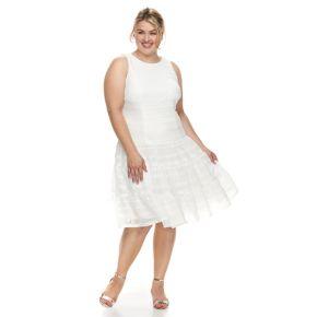 Plus Size Suite 7 Knit Tier Dress