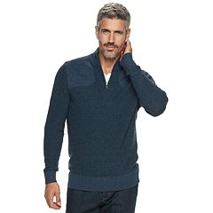 Men's Croft & Barrow® Classic-Fit 9GG Quarter-Zip Sweater