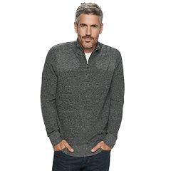 Men's Croft & Barrow® Classic-Fit 9GG Quarter-Zip Sweater