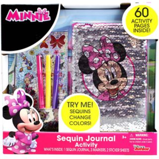 Disney's Minnie Mouse Sequins Activity Journal by Tara Toy