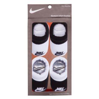 Baby Boy Nike 2-pack White & Black Booties