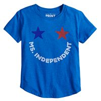 Girls 7-16 Americana Graphic Tee
