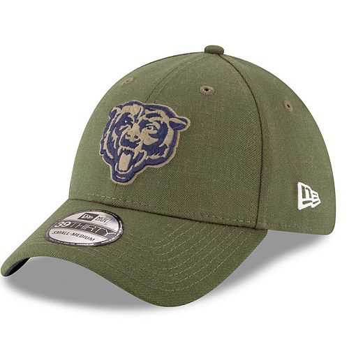 0e41a40a Adult New Era Chicago Bears Salute to Service 39THIRTY Flex-Fit Cap