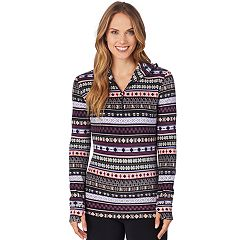 Women's Cuddl Duds Half-Zip Hooded Fleece