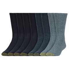 Men's GOLDTOE 6 + 1 Bonus Pack Harrington Crew Socks