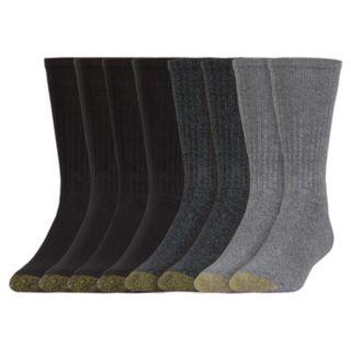 Men's GOLDTOE 6 + 1 Bonus Pack Harrington Crew Socks