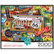 Buffalo Games 2000-Piece: America's Main Street Puzzle