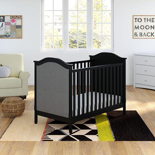 Storkcraft Rosehill Upholstered 3-in-1 Convertible Crib