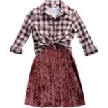 Girls 7-16 Emily West Dress, Jacket & Knit Tee Set