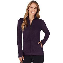 Women's Cuddl Duds Stretch Fleece Zip-Up Top