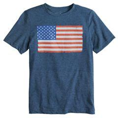 Boys 8-20 Americana Graphic Tee