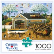 Buffalo Games 1000-Piece Charles Wysocki: Dahlia Makes a Dory Deal Puzzle