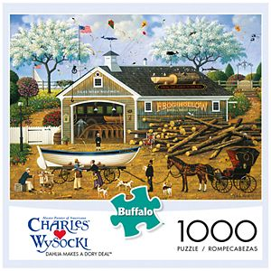 423d582b7e98c Sale.  9.89. Regular.  10.99. Buffalo Games 1000-Piece Charles Wysocki   Dahlia Makes a Dory Deal Puzzle. Sale