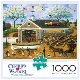 Buffalo Games 1000-Piece Charles Wysocki: Dahlia Makes a Dory Deal Puzzle