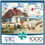 Buffalo Games 1000-Piece Charles Wysocki: Root Beer Break At the Butterfields Puzzle