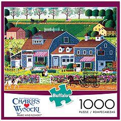 Buffalo Games 1000-Piece Charles Wysocki: Prairie Wind Flowers Puzzle