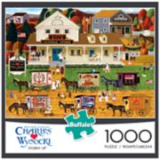 Buffalo Games 1000-Piece Charles Wysocki: Storin' Up Puzzle