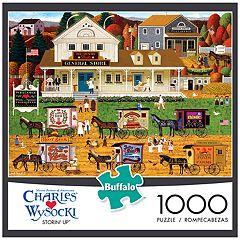 Buffalo Games 1000-Piece Charles Wysocki: Storin' Up Puzzle