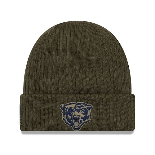 aa957558 Adult New Era Chicago Bears Salute to Service Knit Beanie