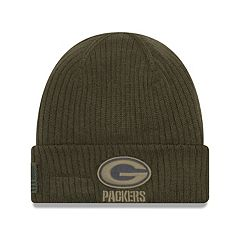 Adult New Era Green Bay Packers Salute to Service Knit Beanie