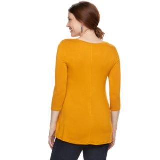 Maternity a:glow Pleat Front Tee