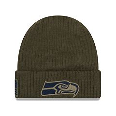 Adult New Era Seattle Seahawks Salute to Service Knit Beanie