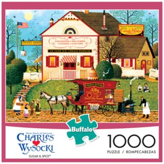 Buffalo Games 1000-Piece Charles Wysocki: Sugar and Spice Puzzle