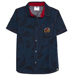 Boys 4-7x Jurassic World: Fallen Kingdom Woven Button Down Shirt