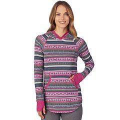 Women's Cuddl Duds Stretch Thermal Tunic Hoodie