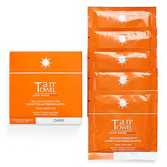 Tan Towel Total Body Self-Tan Towelettes - Dark