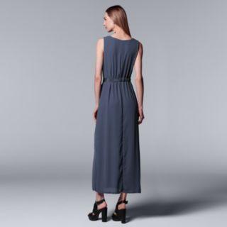 Women's Simply Vera Vera Wang Chiffon Maxi Dress