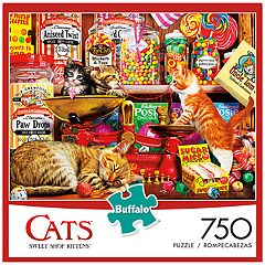 Buffalo Games 750-Piece Cats: Sweet Shop Kittens Puzzle