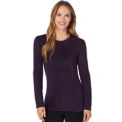 Plus Size Cuddl Duds Fleecewear Crewneck Top