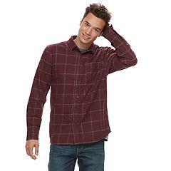 Men's Vans Tell So-K Button-Down Shirt