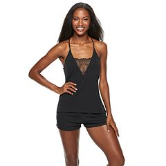 Women's Flora by Flora Nikrooz Kat Lace Cami & Shorts Pajama Set